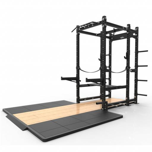 Primal Strength Monster Series Commercial Performance Rack with 50mm platform