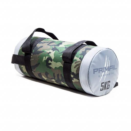 Primal Strength Rebel Commercial Fitness Camouflage Powerbags 5kg / 30kg