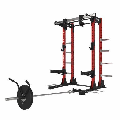 Primal Strength V3.0 Commercial Half Rack (Red)