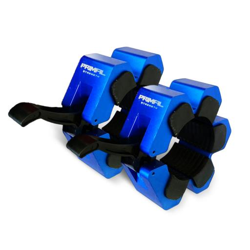 Primal Strength Metal Quick Release Lock Collar (Blue)
