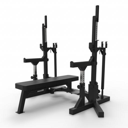 Primal Strength Commercial Combo IPF Bench Matte Black