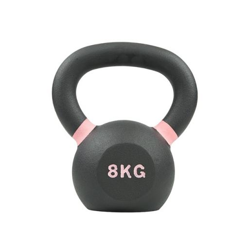 Primal Strength Rebel Commercial Fitness Premium Cast Kettlebell 8kg