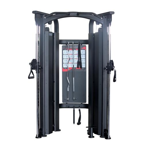 Primal Strength Stealth Commercial Functional Trainer Dual Adjustable Pulley