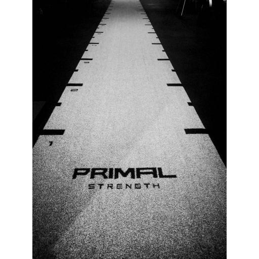 Primal Strength Premium Astro Track with Markings 12m x 1.5m (Grey)