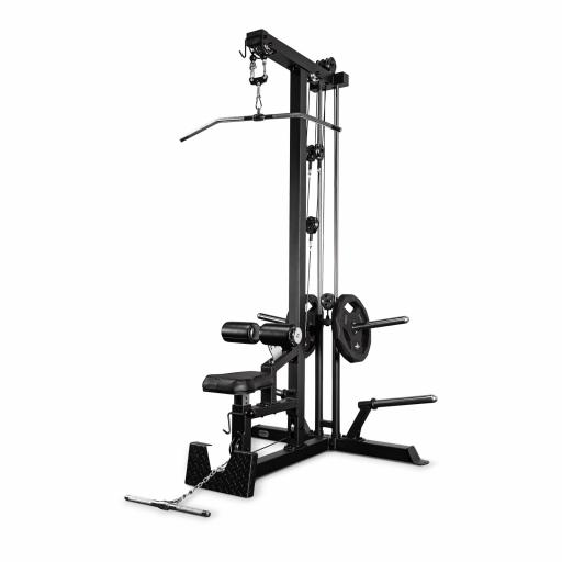 Primal Strength Light Commercial Plate Loaded Dual Lat Pull Down/Low Row