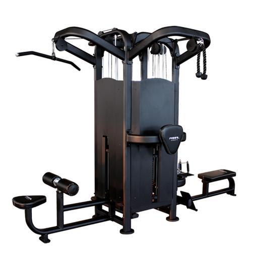 Primal Strength Stealth Commercial Fitness Elite 4 Stack Multi Station
