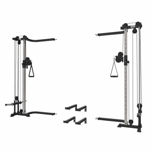 Primal Strength Home Series Cable Crossover Rack Mounted