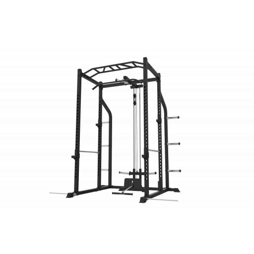 Primal Strength Home Series Rack with Lat Low Attachment