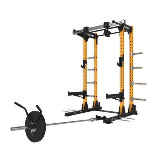Primal Strength V3.0 Commercial Half Rack (Orange)