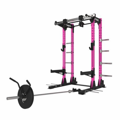 Primal Strength V3.0 Commercial Half Rack (Pink)