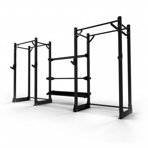 Primal Strength UK360 2-Bay Half Rack ST